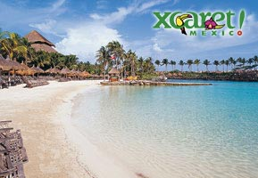 Xcaret Tropical Beach